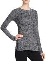 Aqua Cashmere Fitted Crewneck Cashmere Sweater - 100% Exclusive