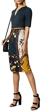 Ted Baker Madiiy Savanna Print Dress