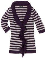 Paperdoll Girls 7-16 Stripe Ruffle Sweater