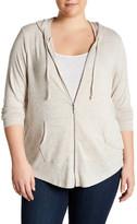 Olivia Sky Cozy Zip Hoodie (Plus Size)