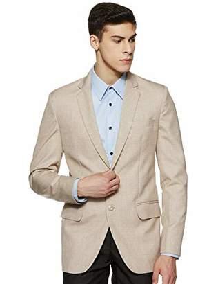 Shaftesbury London Men's 2 Button Slim Fit Blazer L