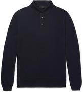 Ermenegildo Zegna Wool and Cashmere-Blend Polo Shirt