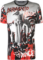 Dolce & Gabbana Agrigento Music T-shirt - men - Cotton - 50