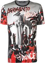 Dolce & Gabbana Agrigento Music T-shirt - men - Cotton - 52