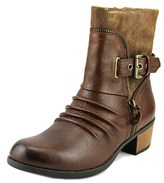 Earth Origins Dolly Women Round Toe Leather Brown Boot.