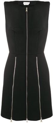 Alexander McQueen Zip-Detail Dress