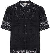 Temperley London Titania Lace Top