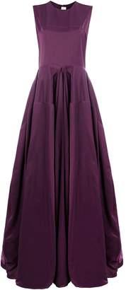Maison Rabih Kayrouz draped flared gown