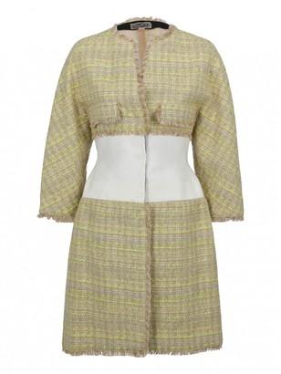 Giambattista Valli Yellow Coat for Women