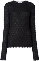 Carven textured knit jumper
