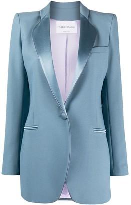 Hebe Studio Smoking single-breasted blazer