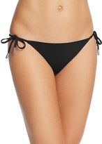 Red Carter Side Tie Cali Bikini Bottom