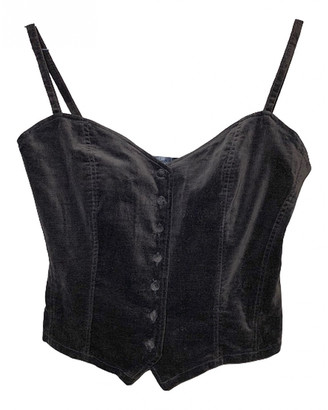 Cacharel Black Velvet Tops