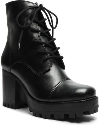 Schutz Jeannie Lace-Up Platform Boot