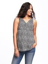 Old Navy Maternity Relaxed Cutout-Back Top