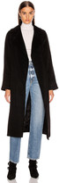 Max Mara Manuel Coat in Black | FWRD