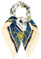 Carolina Herrera Printed Square Scarf