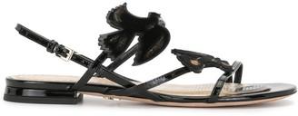 Christian Dior Pre-Owned Bird Motif Sandals