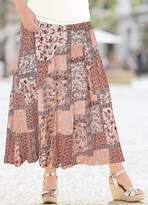 Together Patch Print Skirt