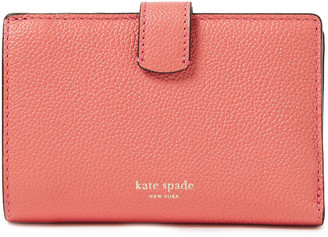 Kate Spade Margaux Pebbled-leather Wallet