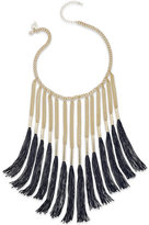 Thalia Sodi Thread Fringe Collar Necklace, Only at Macy's