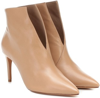 Alexandre Birman Megan 85 leather ankle boots