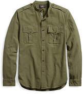 Ralph Lauren Cotton Jacquard Military Shirt