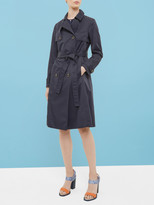 Ted Baker Deconstructed Trench Coat Navy