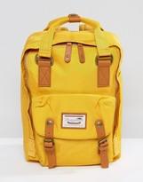 Doughnut Macaroon Backpack In Yellow