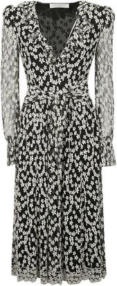 Philosophy di Lorenzo Serafini All-over Floral Lace Long Dress