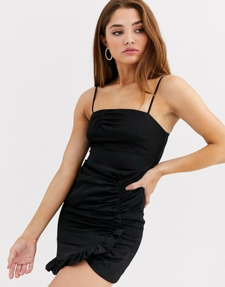 The East Order Isa ruched mini dress