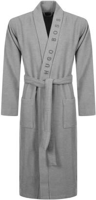 Boss Business BOSS HUGO BOSS Waffle Kimono Bath Robe Grey