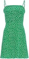HVN Nora floral print mini dress