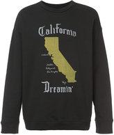 Adaptation oversized California Dreamin' sweatshirt