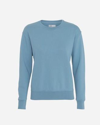 Colorful Standard - Womens Crew Neck Sweatshirt Stone Blue - S / Azul
