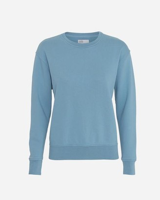 Colorful Standard - Womens Crew Neck Sweatshirt Stone Blue - XS / Azul