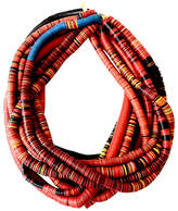 One Kings Lane Vintage African Vinyl Trade Bead Necklaces
