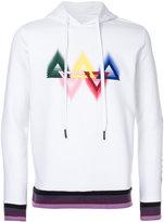 Iceberg embroidered hoodie