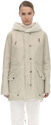 Mr & Mrs Italy Reversible Shearling Parka
