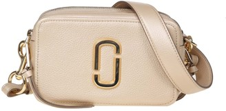 Marc Jacobs The Softshot Pearlized In Gold Color Leather