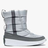 Sorel Out N About Puffy Pure Silver Nylon Mid Boots