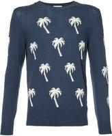 Moncler palm tree sweater - men - Wool - S