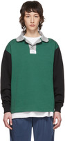 Rassvet Green and Black Rugby Polo