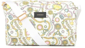 Versace Kids Logo diaper bag