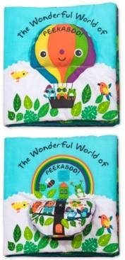 Melissa & Doug The Wonderful World of Peekaboo! Cloth Book