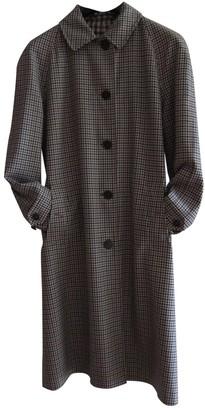 Aquascutum London Multicolour Wool Coat for Women Vintage