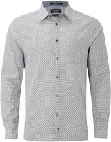 White Stuff Adwa Melange Print Ls Shirt