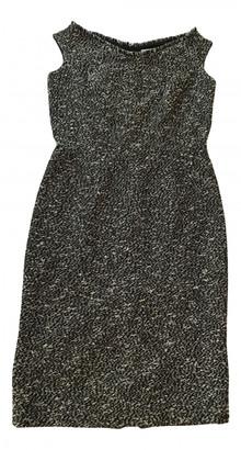 Christian Dior Black Tweed Dresses
