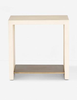 Lulu & Georgia Aprilette Side Table, Parchment White