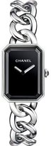 Chanel PREMIèRE Steel Chain Watch, Large Size